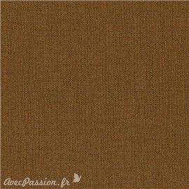 Papier simili toile balacron nomad marron chocolat