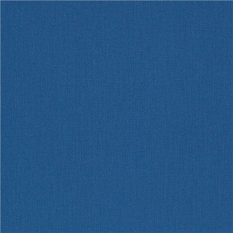 Papier simili toile balacron nomad bleu moyen