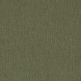 Papier simili toile balacron nomad vert grisé