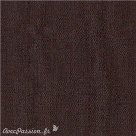 Papier simili toile balacron nomad chocolat
