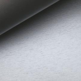 Papier simili métal brossé argent 50x68cm corvon