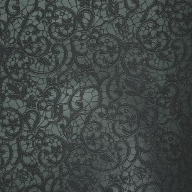 Papier simili cuir calabria bleu nuit 50x70cm