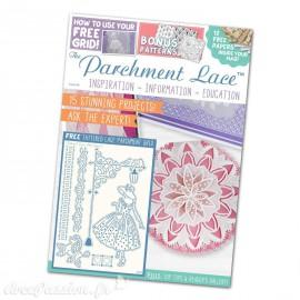 Parchment Lace magazine 2017 Pergamano n°6