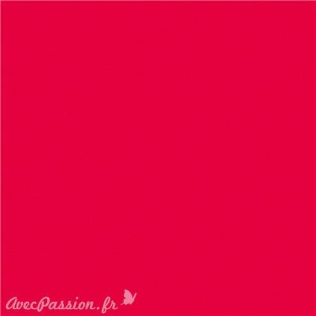 Feuille décopatch 30x40cm uni rouge