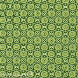 Feuilles décopatch tropical tons de vert