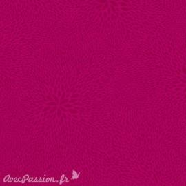 Feuilles décopatch faux unis rose fushia