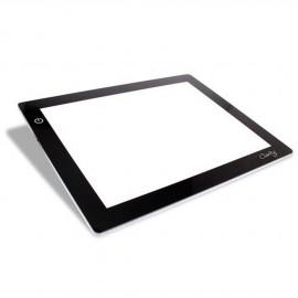 Table lumineuse électrique à led 21x29.7cm