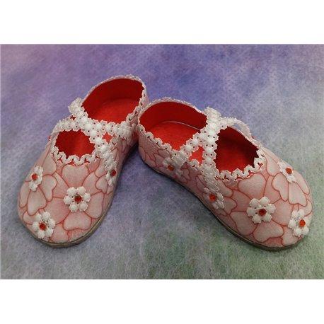 Matériel pour chaussures ballerine du livre Delightful Gifts d'Amanda Yeh