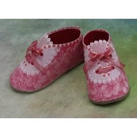 Matériel pour chaussures lace du livre Delightful Gifts d'Amanda Yeh