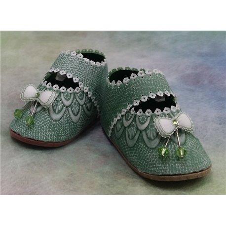 Matériel pour chaussures bow du livre Delightful Gifts d'Amanda Yeh