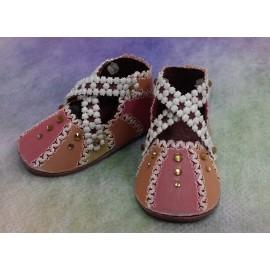 Matériel pour chaussures carnival du livre Delightful Gifts d'Amanda Yeh