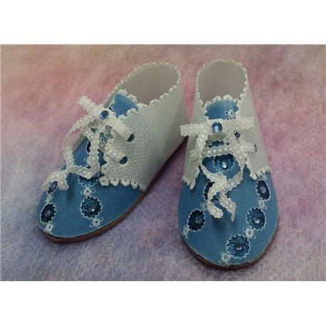 Matériel pour chaussures travel du livre Delightful Gifts d'Amanda Yeh