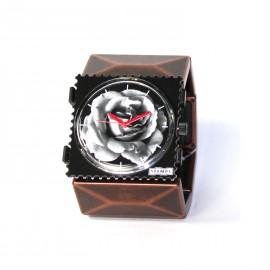 Bracelet élastique de montre Stamps belta métal cuivre vintage