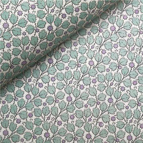 Papier tassotti à motifs fleurs d'arbousier