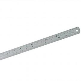 Réglet métallique acier inoxydable 30cm ou 12 inches