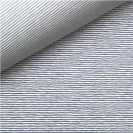 Papiers tassotti à motifs recto verso rayures bleu et azur