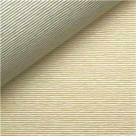 Papiers tassotti à motifs recto verso rayures vert et jaune