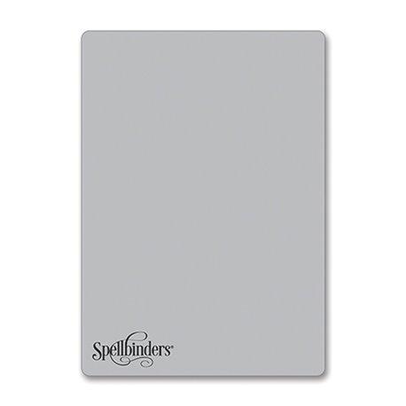 Plaque argent 3D embossing Platinum Spellbinders 15x21.5cm