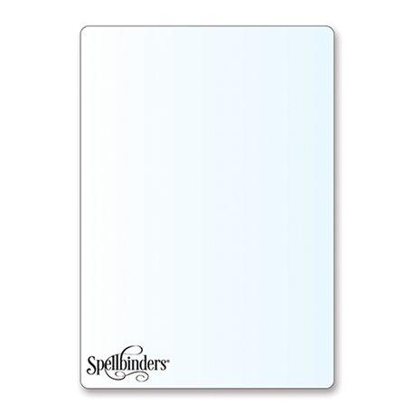 Plaque de coupe embossing Platinum Spellbinders 2p 15x21.5cm