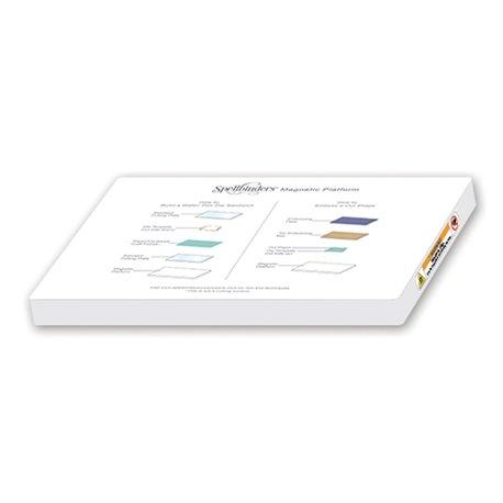 Plaque magnetic plateform Platinum Spellbinders 16.5x21.9cm