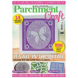 Parchment Craft magazine Pergamano avril 2017 It's all in the detail