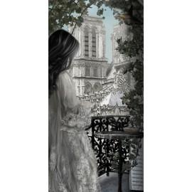 Carte d'art Valie Le Boeuf Notre Dame