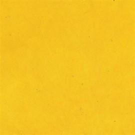 Papier népalais lokta lamaLi jaune soleil