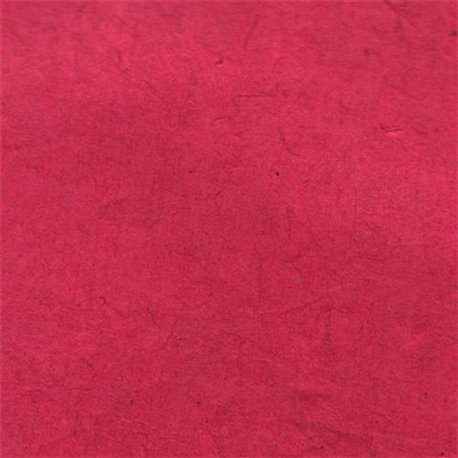 Papier népalais lokta lamaLi rose fuschia
