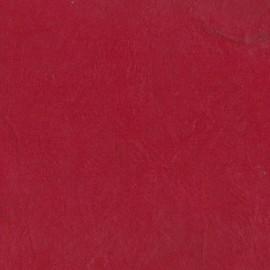 Papier népalais lokta lamaLi rouge foncé -