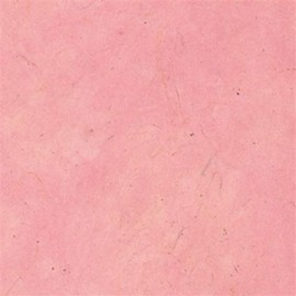 Papier népalais lokta lamaLi rose tendre