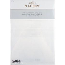 Plaques de coupe sizzix extra longue vendues par 2 - 16x37cm