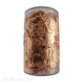 Pot de dorure couleur cuivre rose 4gr