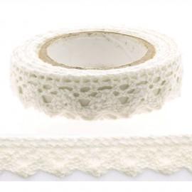 Lace tape adhésif dentelle adhésive blanche