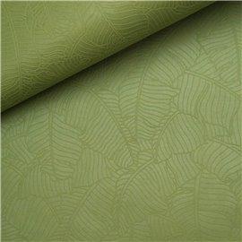Papier fantaisie amazonia feuilles tilleul