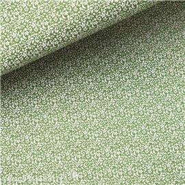Papier népalais lokta astra vert et blanc