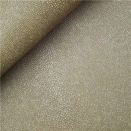 Papier simili cuir stingray doré