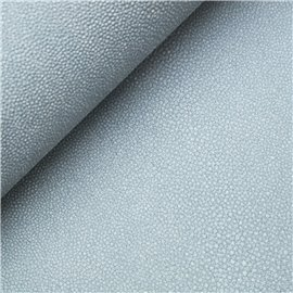 Papier simili cuir stingray bleu ciel 53x70cm