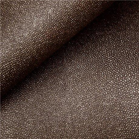 Papier simili cuir stingray marron