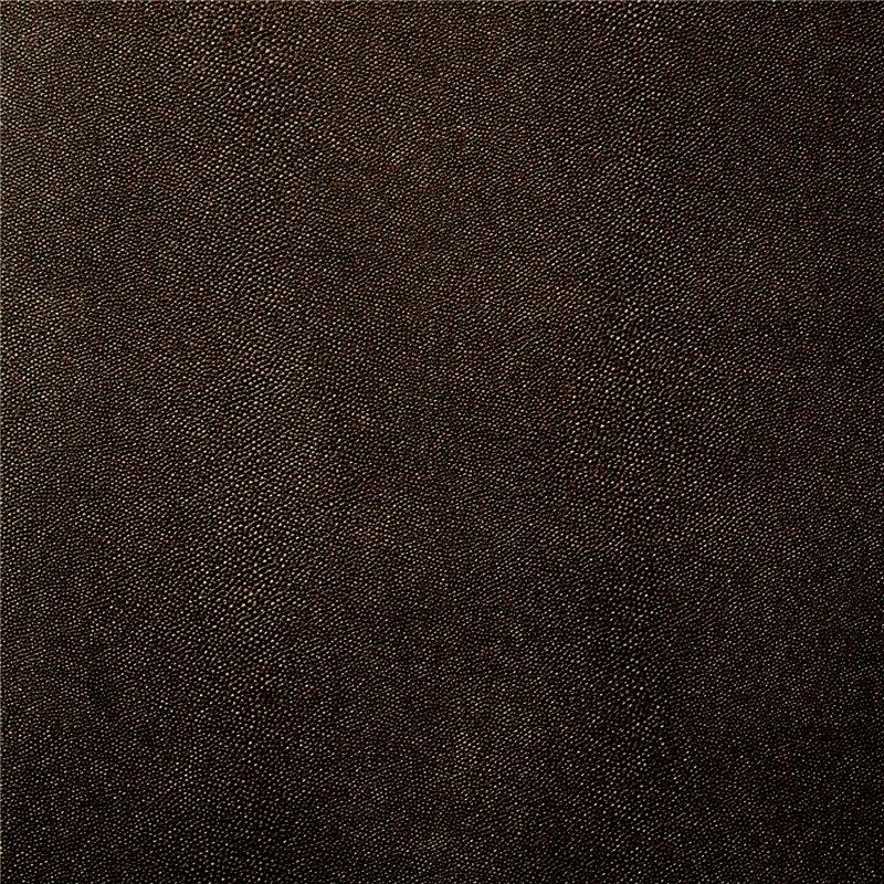 Cartonnage papier simili cuir stingray marron for Papier peint cuir marron