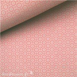 Papier népalais lokta retro rose et rose