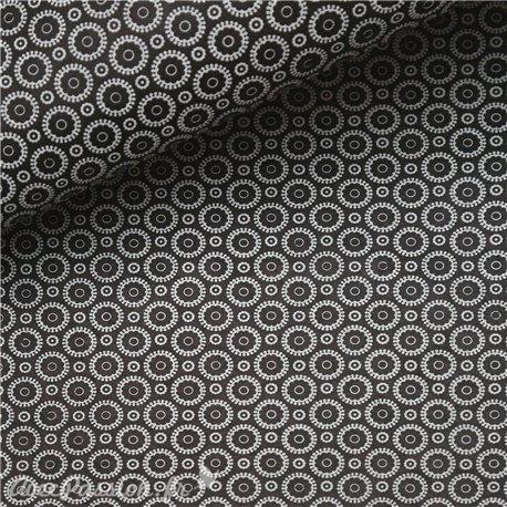 Papier népalais lokta retro noir et blanc
