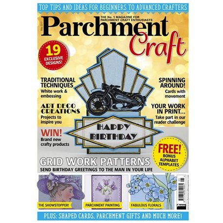 Parchment Craft magazine Pergamano mai 2017 Grid Work Patterns