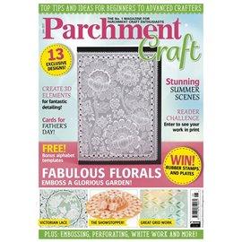 Parchment Craft magazine Pergamano juin 2017 Fabulous Florals