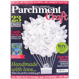Parchment Craft magazine Pergamano juillet 2017 Handmade with Love