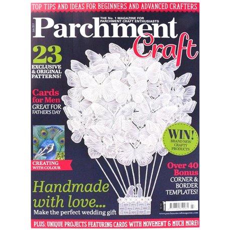 Parchment Craft magazine Pergamano juillet 2017 Handmade with Love