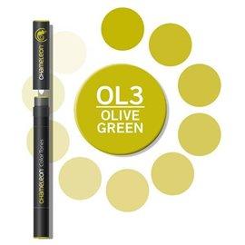 Chameleon feutre couleur olive OL3