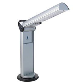 Lampe Daylight argent et noire portative tête pivotante Twist FD33707