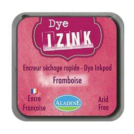 Encreur tampon Aladine Dye Izink séchage rapide framboise