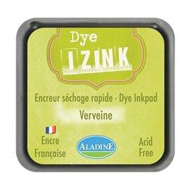 Encreur tampon Aladine Dye Izink séchage rapide verveine