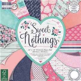 Papier scrapbooking assortiment sweet nothing 48fe